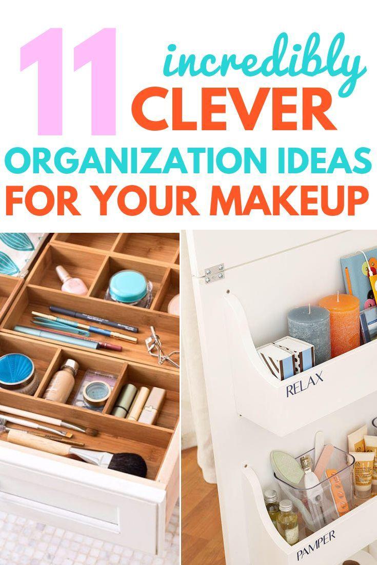 11 Clever Bathroom Makeup Storage Ideas images