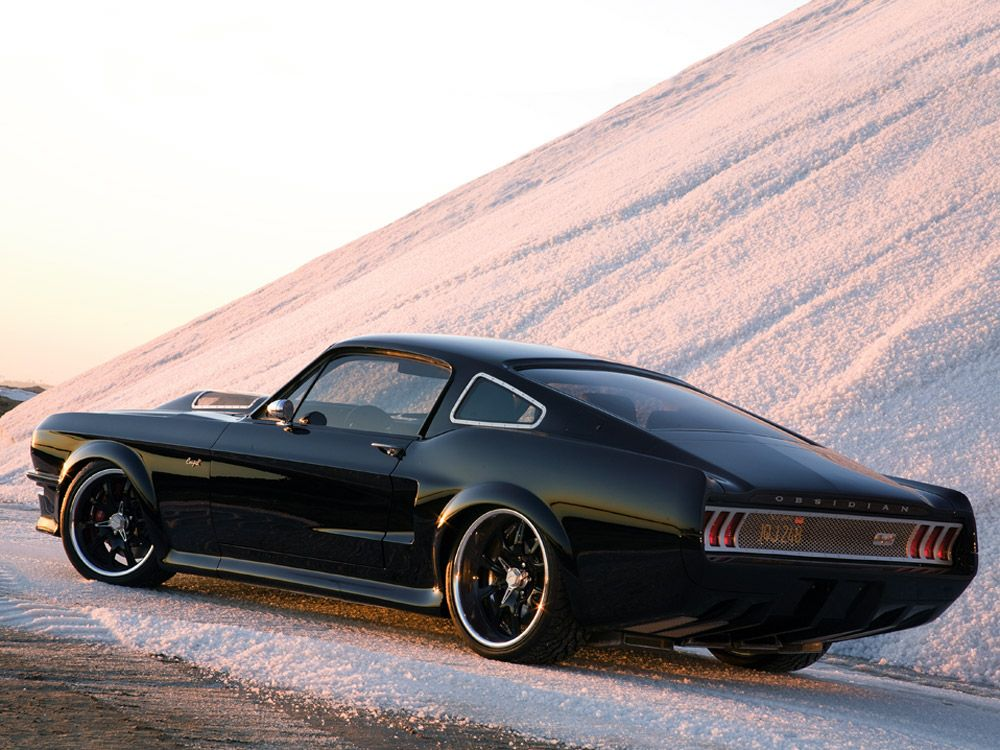 Custom Ford Mustang Obsidian Sg One By American Muscle