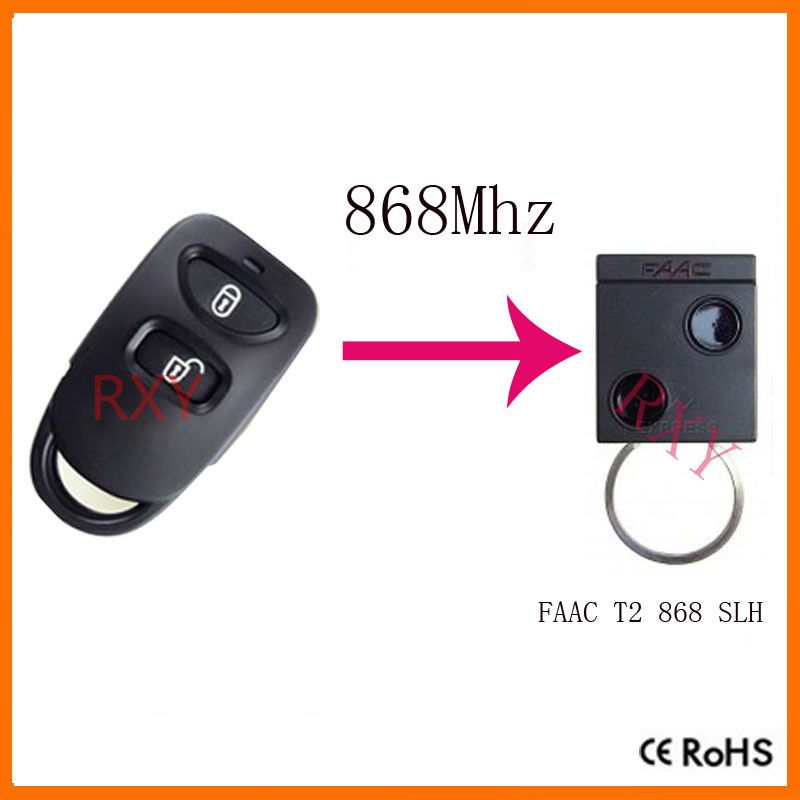 Free Shipping Copy Faac T2 868 Slh Remote For Garage Door Home
