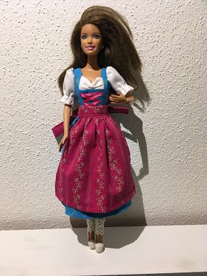 MaRaMo: Barbie Dirndl   Puppen und ihre Kleider   Pinterest   Barbie ...