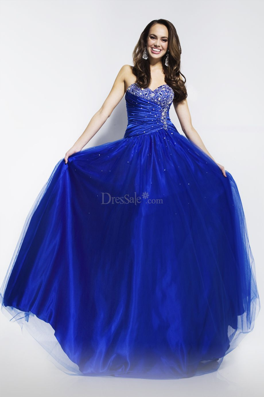 Fascinating Royal Blue Prom Dress With Adorable Sweetheart Neckline Prom Dresses Blue Prom Dresses Long Prom Dresses Ball Gown [ 1380 x 920 Pixel ]