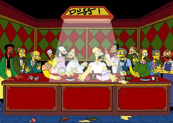 55 Pop Culture Parodies Of The Last Supper Last Supper Last Supper Art Art Parody
