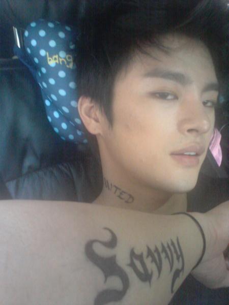 Seo In Guk. Why does he always look like he has bedroom eyes? Sheesh...