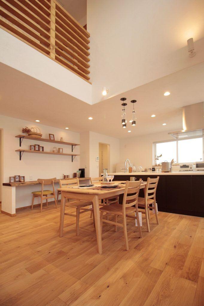 憧れのオープンキッチン 収納力 上質なシンプルハウス キッチン