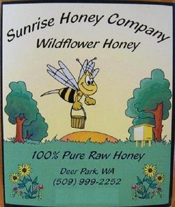 Sunrise Honey Company North Of Spokane Sunrise
