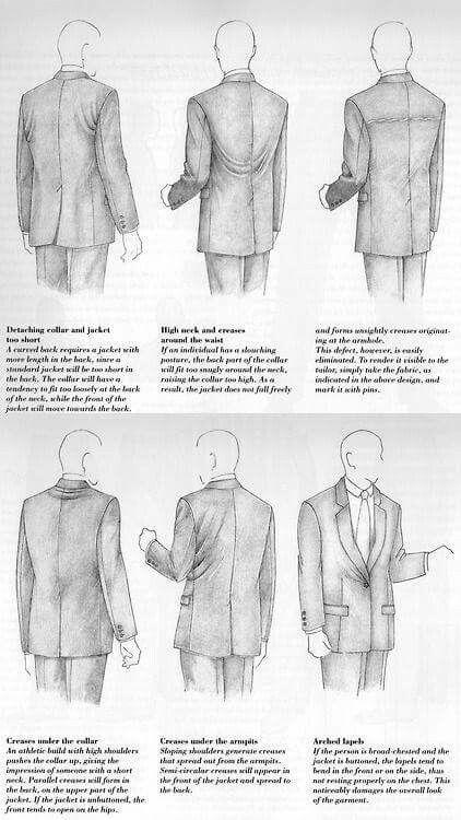 Caída de un buen traje