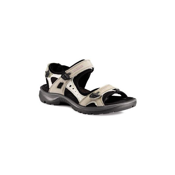 82d29ff55ed2 Ecco Women s Yucatan Sandal - Atmosphere Oiled Nubuck 69563-54695 via  Polyvore