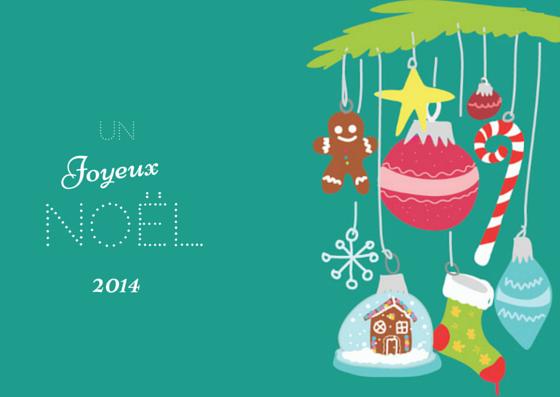 Free Printable : Des cartes de Noël à imprimer et envoyer