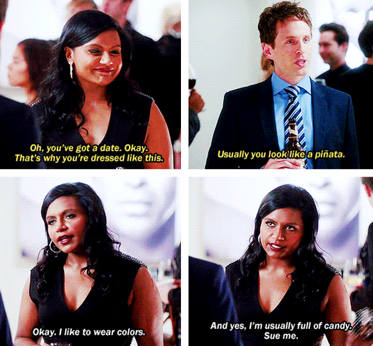Pin By Sonia George On Humor Mindy Kaling The Mindy Project Mindy