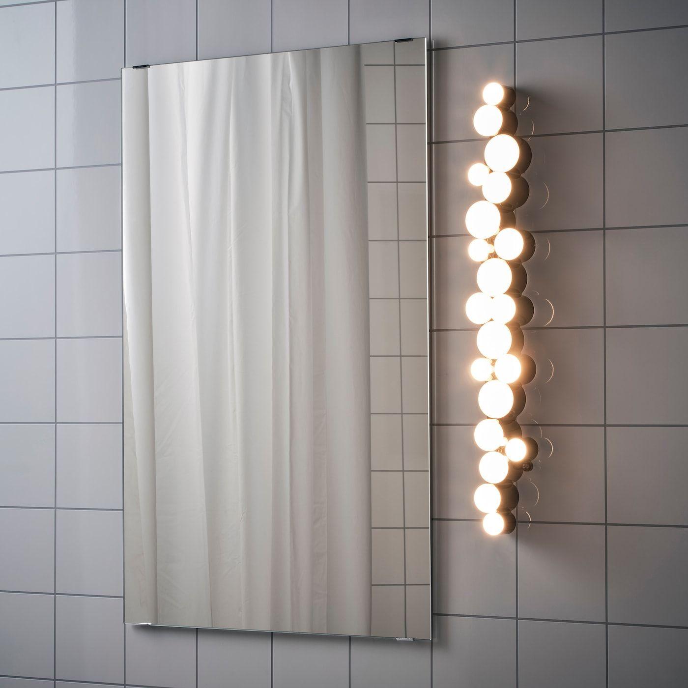 Sodersvik Wandleuchte Led Schwarz Verchromt Ikea Osterreich In 2020 Led Wall Lamp Black Wall Lamps Wall Lamp