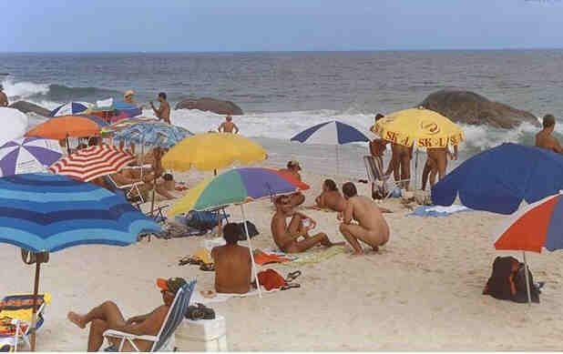Brazilija naturistična plaža v Praia Do Abrico, Rio De Janeiro-5679