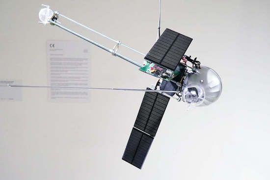 The Orbitalochka is a solar-powered satellite synth