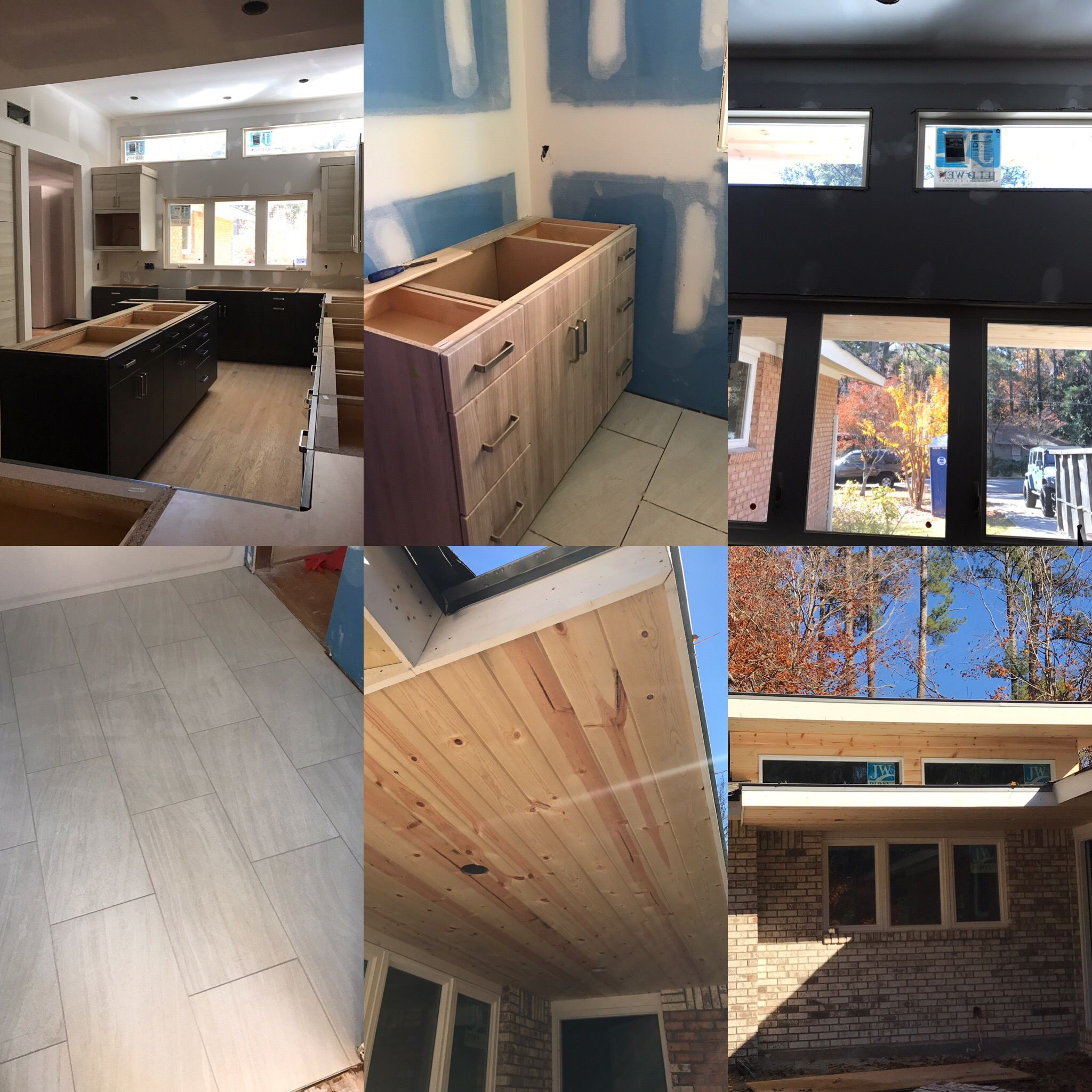 Pin By Glazer Design Construction On In Progress Photos And