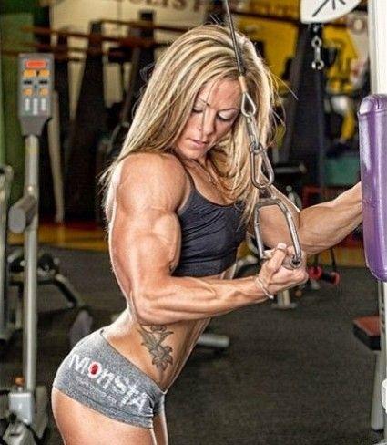 Schön bodybuilder frau World's Most