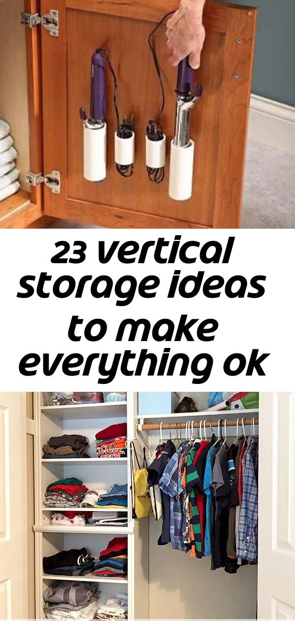 23 Vertical Storage Ideas To Make Everything Ok In Your Apartment