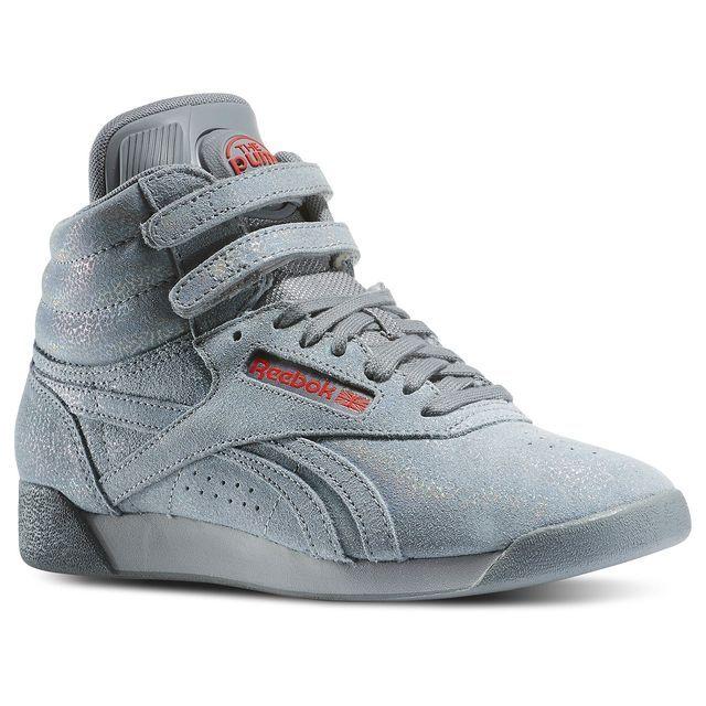 Reebok Freestyle High Black Gum Zapatos Ropa Informal Ropa