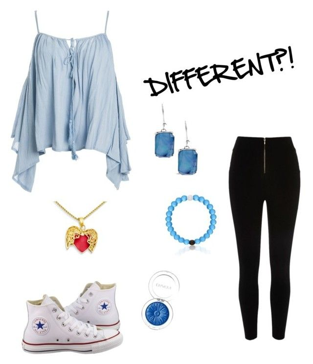 """""""Out of my shell"""" by ms-awesome123 ❤ liked on Polyvore featuring Sans Souci, River Island, Converse, Chico's and Clinique"""