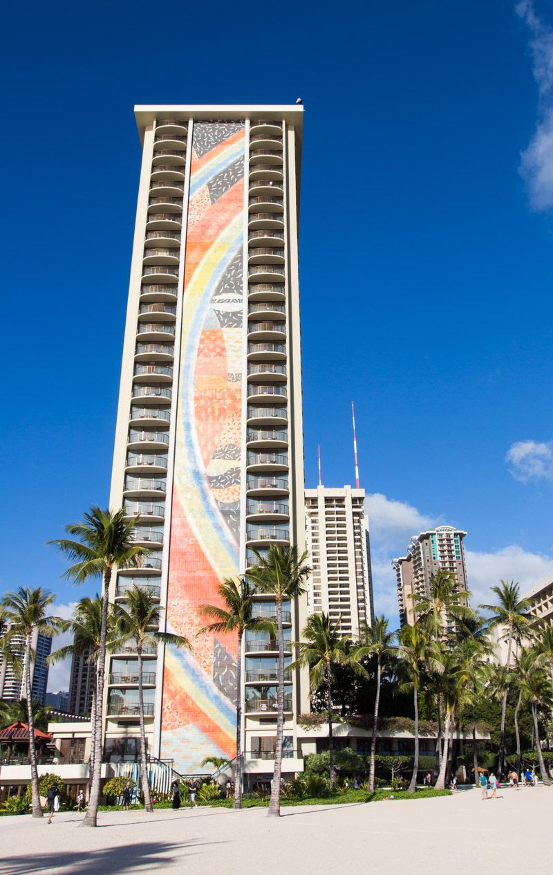 Rainbow Tower At The Hilton Hawaiian Village Hotel Best Kid Friendly In