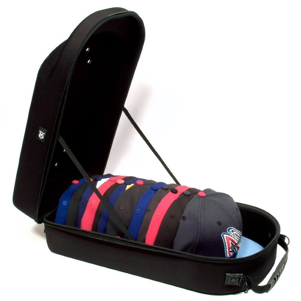 Hat Cap Carrier Case Fitted Snapback Shoulder Strap Storage Organizer Protector Baseball Caps Storage Baseball Cap Storage Organizers Cap Storage