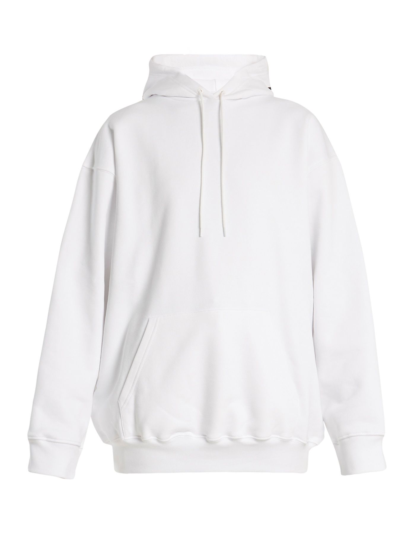 Balenciaga Hoodie Sweater At Matchesfashion Com Oversized White Hoodie White Hoodie Women Sweater Hoodie [ 1871 x 1403 Pixel ]