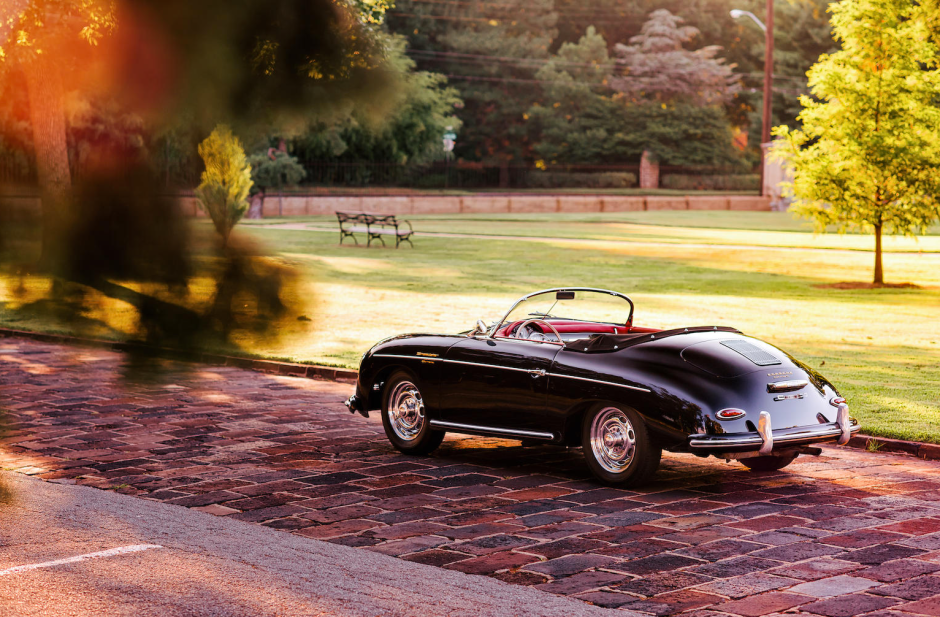 20 Gorgeous Photos Of A 1956 Porsche 356a Carrera Gs Speedster Porsche 356a Porsche Porsche 356 Speedster