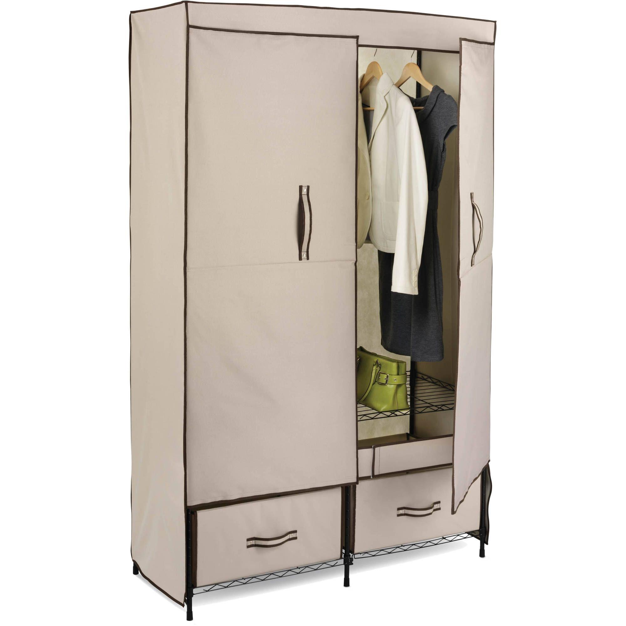 Honey Can Do Double Door Storage Closet 43 Wide