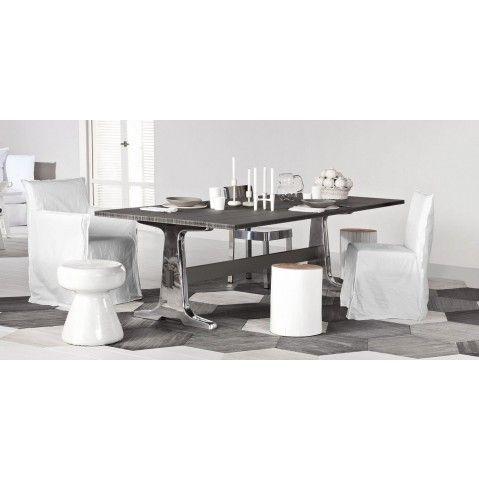 Table rectangulaire BRICK 133/134 de Gervasoni, 2 tailles