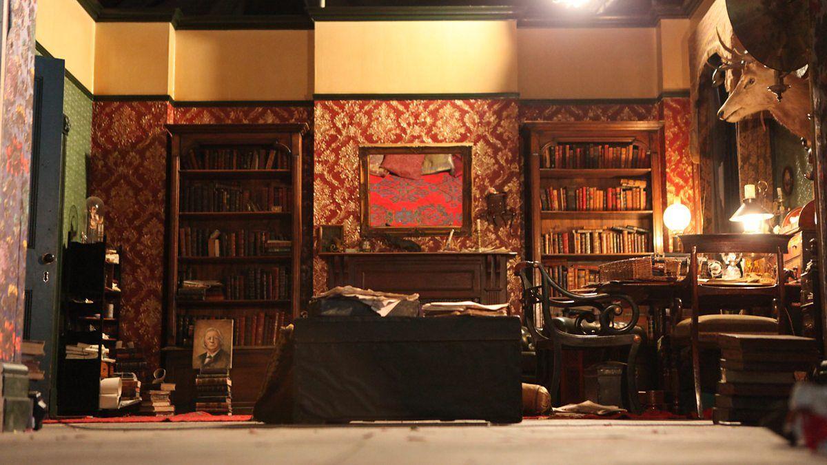 Living room victorian pinterest baker street sofas and 221b - Bbc Abominable Bride Set