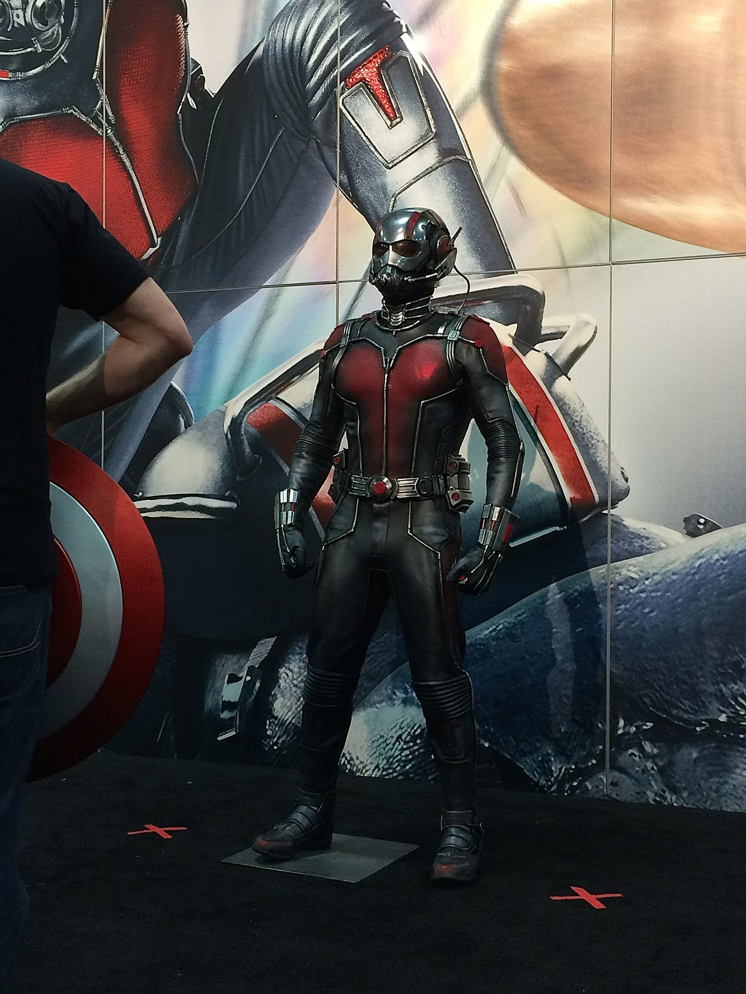 The Ant Man Costume From The Movie
