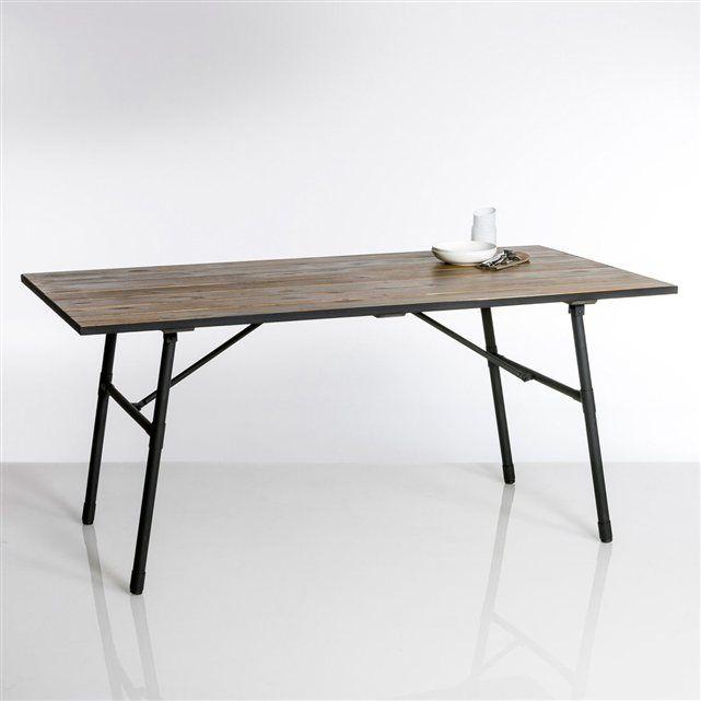 Table de jardin pliante Sohan | Au jardin... Mobilier | Table de ...