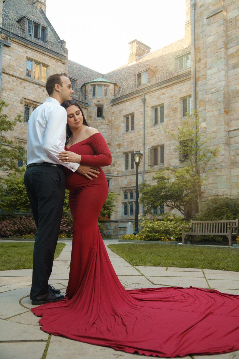 Maternity Photography at Yale University New Haven, CT