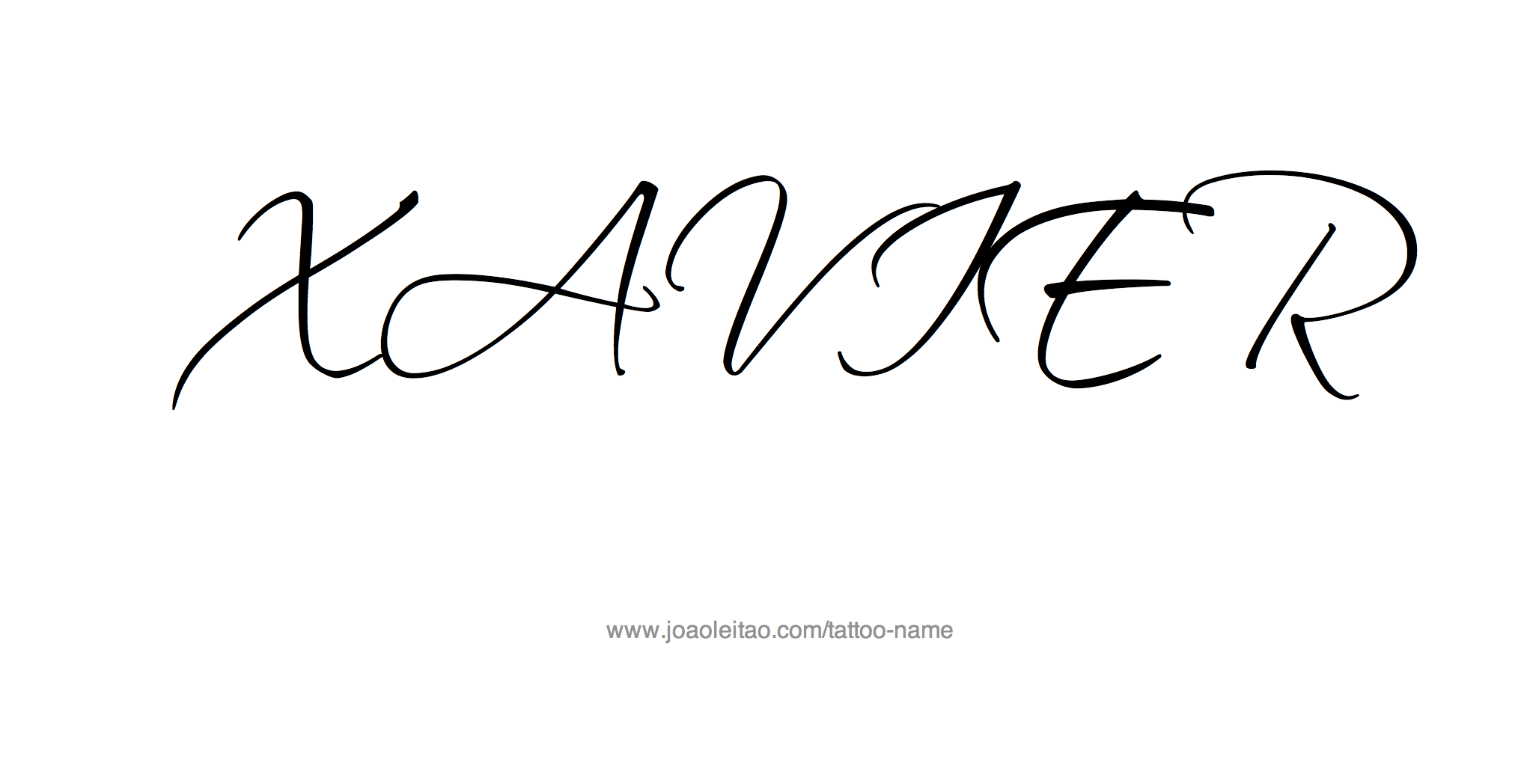 Xavier Name Tattoo Designs Name Tattoo Designs Tattoo Designs Name Tattoos