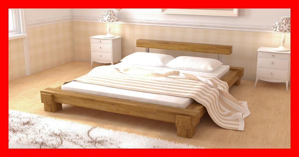 Lite Drewniane łóżko Monaco łóżka Buk Bukowe 5250870114