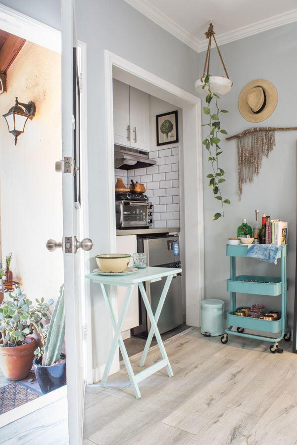 Small E Living Ideas From An L A Studio Apartment Therapy Layout