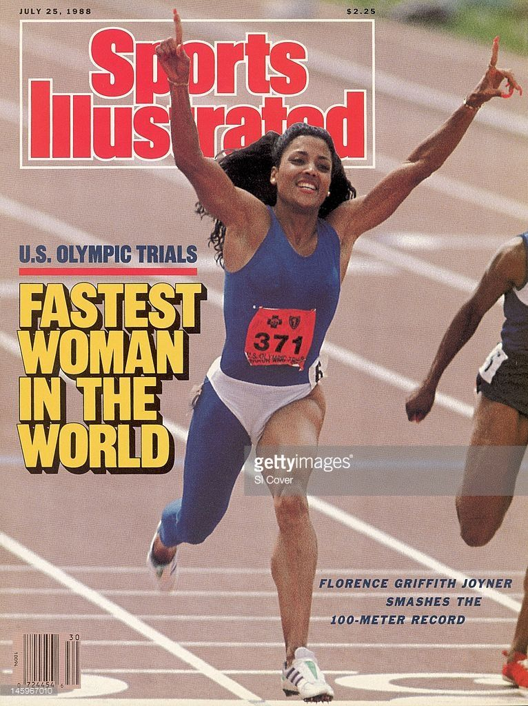 Fastest Woman In The World: Florence Griffith-Joyner Smashes The 100-Meter  Record