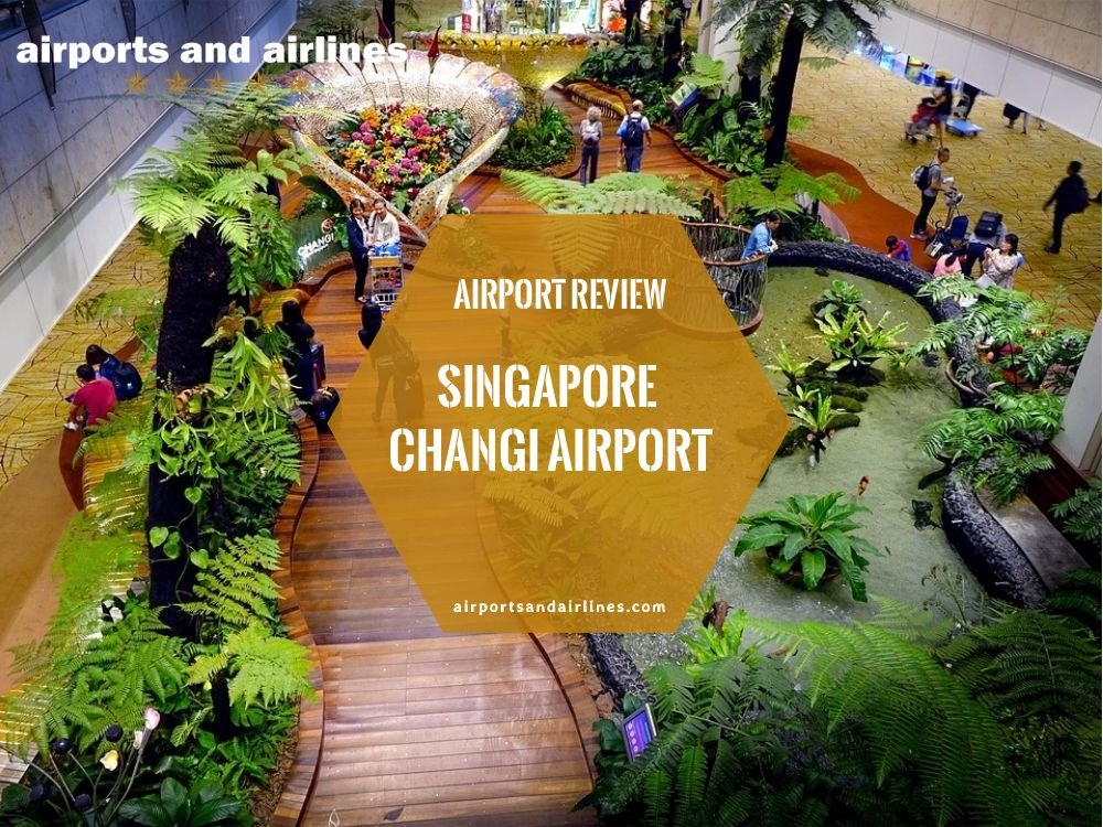 Singapore Changi Airport is one of the largest air