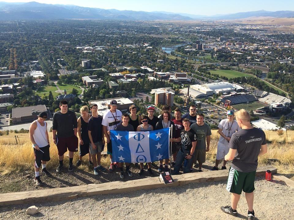 My last Phikeia Class - By Ryan Watson — University of Montana Phi Delta Theta