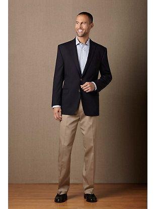 khaki pants and vest for men - Pi Pants
