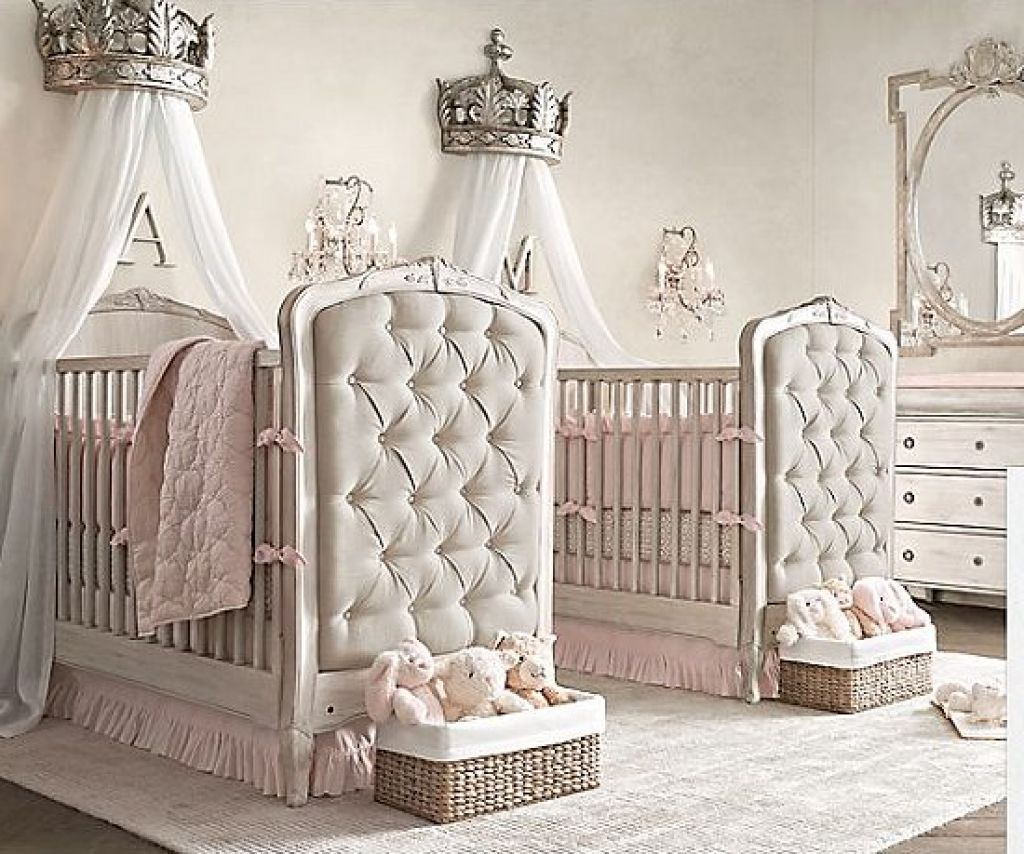 Beautiful Baby Nurseries twin baby girl bedroom - google search | room ideas | pinterest