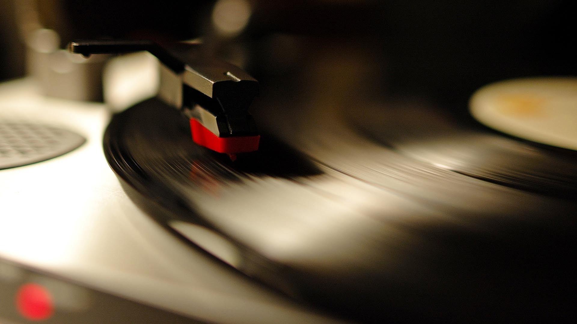 Vinyl Record Player Wallpaper Phonograph wallpaper Vinyl
