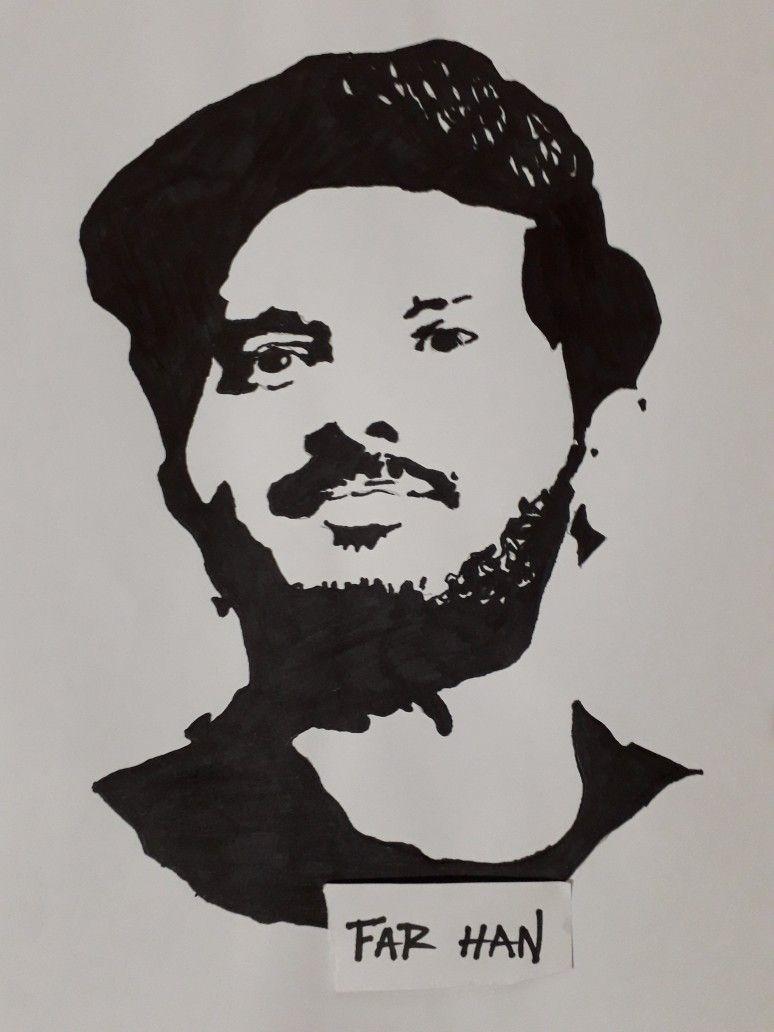 Dqsalmaan stencil drawing dqsalmaandrawing instagram