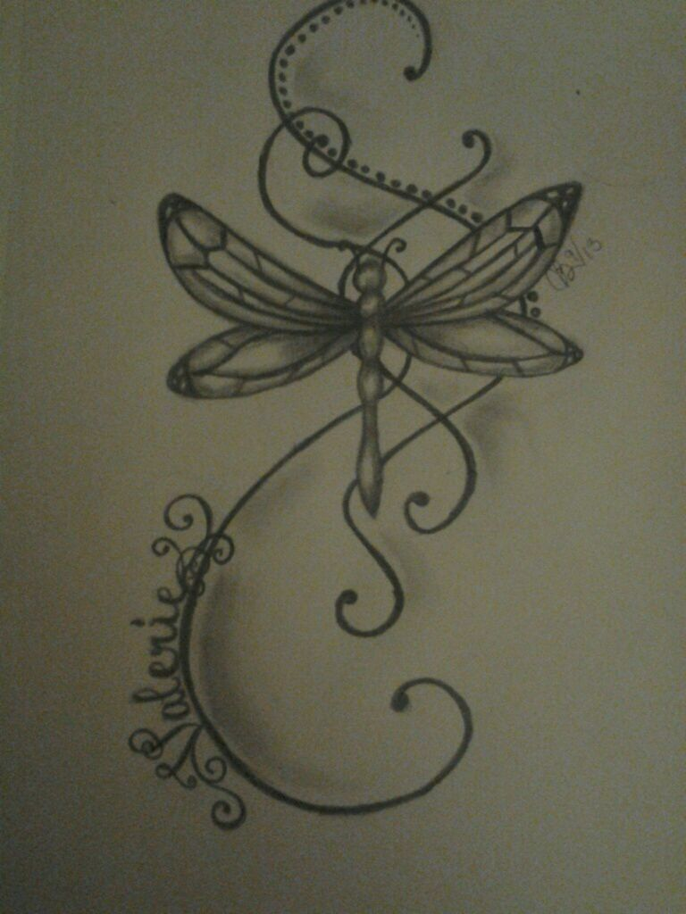 This will be my very first tattoo my sister in law drew for Sister in law tattoos