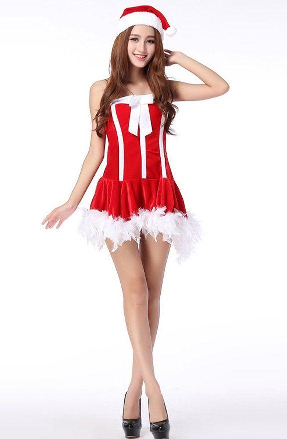 Amazon Com Fllt Sexy Madam Santa Christmas Costume Order At