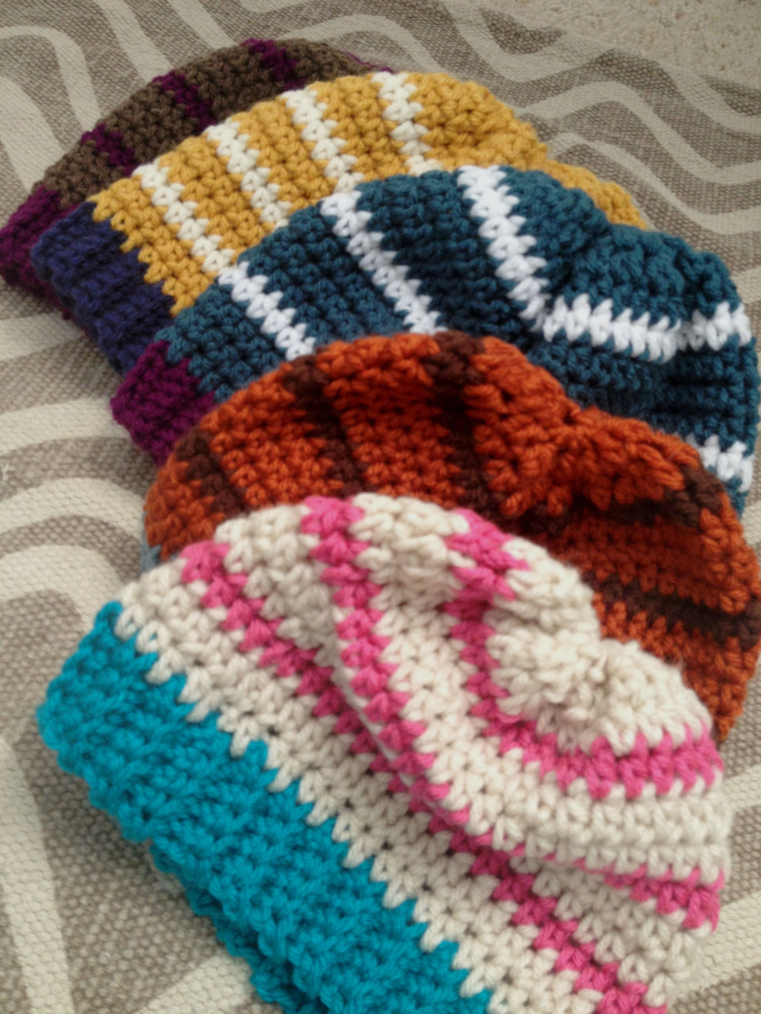 Simple Slouch Crochet Hat Pattern | Crochet Hats | Pinterest ...