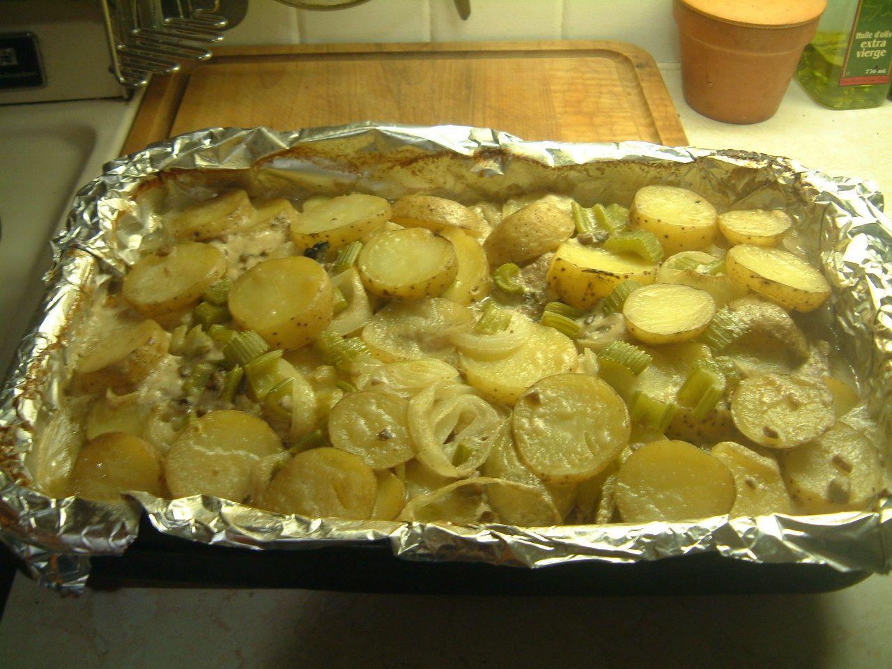 Campbells soup pork chop recipe