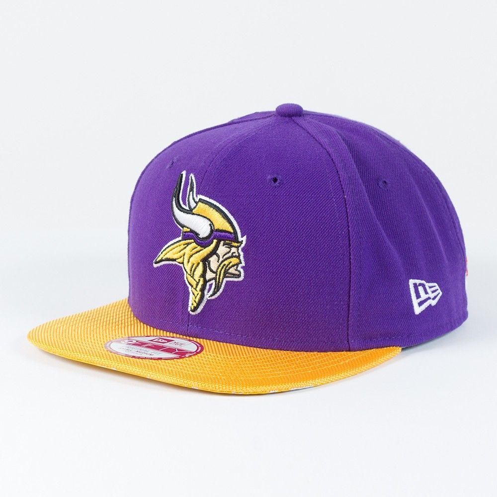 New Era 9Fifty Snapback Cap NFL Minnesota Vikings graphite