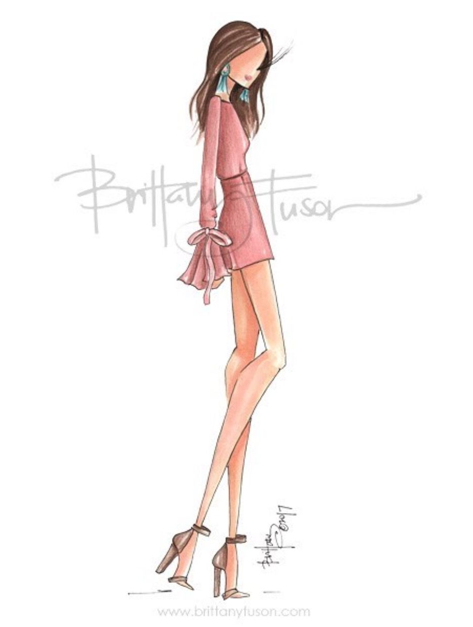 Spring Outfit Goals Fashionillustrations Brittanyfuson Www Brittanyfuson Com B Fashion Sketches Fashion Illustrations Techniques Fashion Designer Quotes