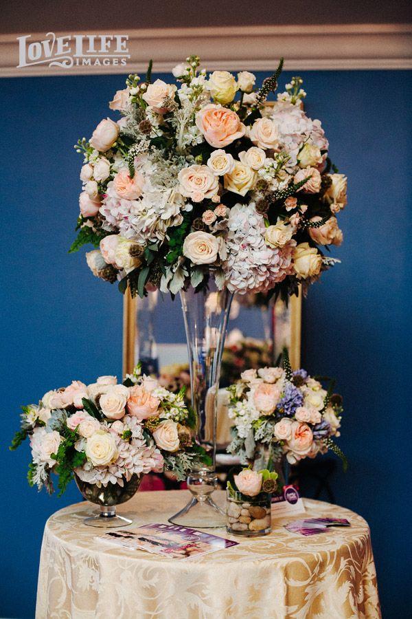 Flower Arrangement By Flowers And Fancies Dazzling Details Wedding Bazaar Produced Carla David