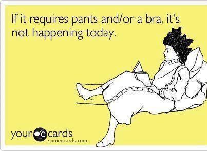 well, I always wear a bra...lol