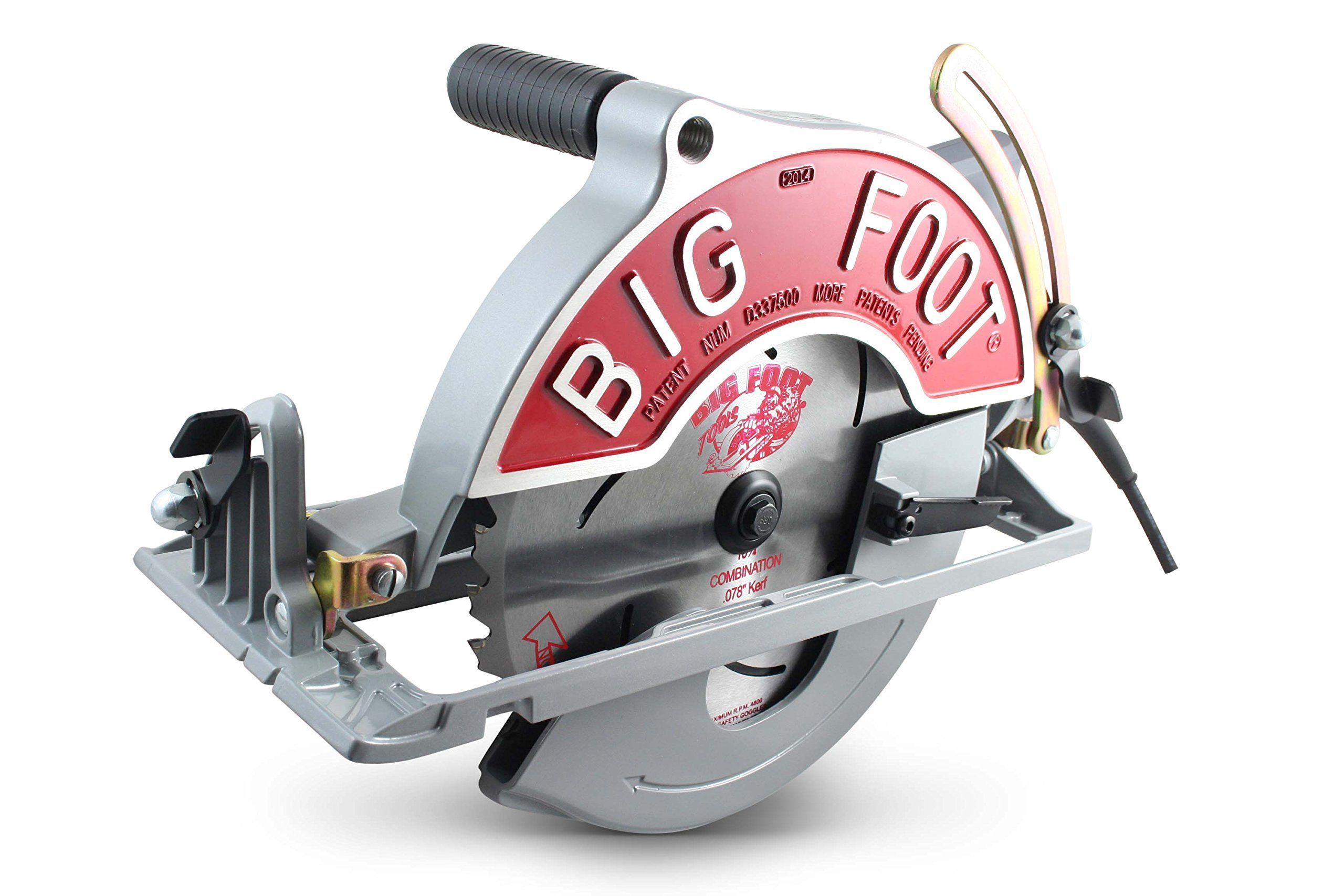 Big Foot Tools Bfug 101 4inch Wormdrive Magnesium Circular Saw W Skil Motor Review More At The Image Web Link This Is An Skil Saw Skill Saw Circular Saw